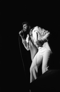 Lenny Wlliams performing live at The Roxy in West Hollywood, Californiacirca mid 1970s© 1978 Bobby Holland - Image 20928_0020