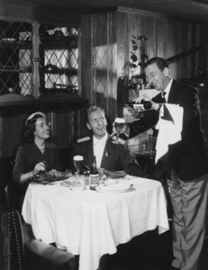 Ray Bolger in a Rheingold Beer advertisementcirca 1950s© 1978 Paul Hesse / A.M.P.A.S. - Image 2100_0042