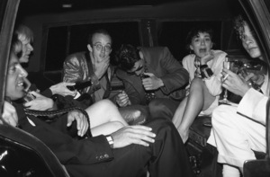 Tom Cruise, Keith Haring, Steve Rubell and Andy Warhol attending Madonna