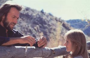"""The Outlaw Josey Wales"" Clint Eastwood & Sondra Locke 1975 Warner Bros. **I.V. - Image 21080_0008"