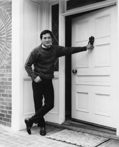 James Shigeta in front of his Georgian-Colonial home on top of the Hollywood Hillscirca 1956Photo by Joe Shere - Image 21096_0011