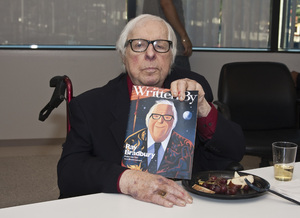Ray Bradbury at the Writers Guild of America, West office in Los Angeles for a discussion panel event2010© 2010 Michael Jones - Image 2110_0004