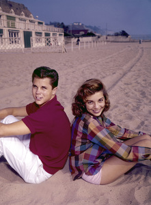 Tony Dow and Dodie Stevenscirca 1960Photo by Joe Shere - Image 21151_0001