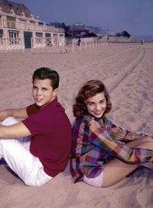 Tony Dow and Dodie Stevenscirca 1960Photo by Joe Shere - Image 21151_0001