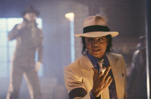 """""""Moonwalker"""" Michael Jackson 1988 © 1988 Gene Trindl - Image 21152_0001"""