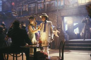 """""""Moonwalker"""" Michael Jackson 1988 © 1988 Gene Trindl - Image 21152_0002"""