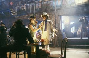 """""""Moonwalker"""" Michael Jackson 1988 © 1988 Gene Trindl - Image 21152_0004"""