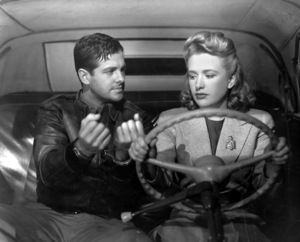 """Saboteur""Robert Cummings and Priscilla Lane1942 Universal**I.V. - Image 21298_0003"
