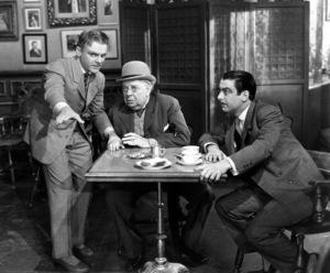 """Yankee Doodle Dandy""James Cagney, Walter Huston, and Richard  Whorf 1942**I.V. - Image 21300_0001"