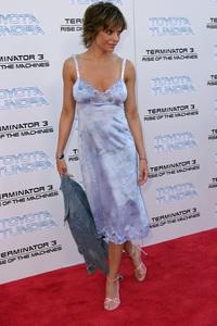 """Terminator 3: Rise of the Machines"" Premiere 6/30/03Lisa Rinna © 2003 Sam Kweskin - Image 21316_0021"