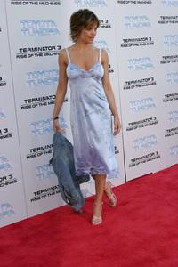 """Terminator 3: Rise of the Machines"" Premiere 6/30/03Lisa Rinna © 2003 Sam Kweskin - Image 21316_0022"