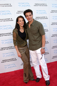 """Terminator 3: Rise of the Machines"" Premiere 6/30/03Antonio Sabato Jr., Kristen Rosetti © 2003 Sam Kweskin - Image 21316_0030"
