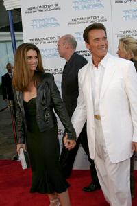 """Terminator 3: Rise of the Machines"" Premiere 6/30/03Maria Shriver, Arnold Schwarzenegger © 2003 Sam Kweskin - Image 21316_0038"
