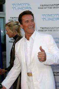 """Terminator 3: Rise of the Machines"" Premiere 6/30/03Arnold Schwarzenegger © 2003 Sam Kweskin - Image 21316_0039"