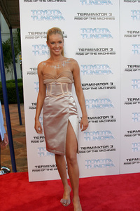 """Terminator 3: Rise of the Machines"" Premiere 6/30/03Kristanna Loken © 2003 Sam Kweskin - Image 21316_0045"