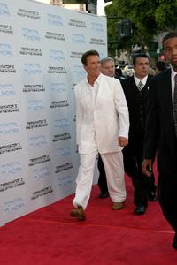 """Terminator 3: Rise of the Machines"" Premiere 6/30/03Arnold Schwarzenegger © 2003 Sam Kweskin - Image 21316_0046"