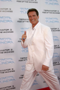 """Terminator 3: Rise of the Machines"" Premiere 6/30/03Arnold Schwarzenegger © 2003 Sam Kweskin - Image 21316_0047"