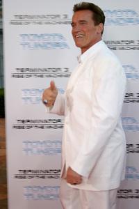 """Terminator 3: Rise of the Machines"" Premiere 6/30/03Arnold Schwarzenegger © 2003 Sam Kweskin - Image 21316_0048"