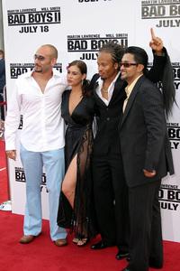 """Bad Boys 2"" Premiere 7-9-03Kiko Ellsworth,Christine Carlo, Jason Olbal © 2003 Sam Kweskin - Image 21319_0047"