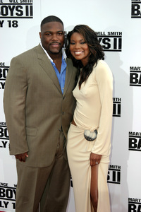 """Bad Boys 2"" Premiere  7-9-03Gabrielle Union and Husband Chris Howard © 2003 Sam Kweskin - Image 21319_0139"