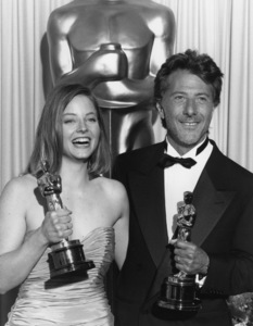 """""""Academy Awards: 61st Annual""""Jodie Foster, Dustin Hoffman1989**I.V. - Image 21345_0008"""