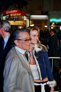 """""""The Hunted"""" Premiere 3-11-03Robert Evans and wifePhoto by Cindy Burtin - Image 21346_0003"""