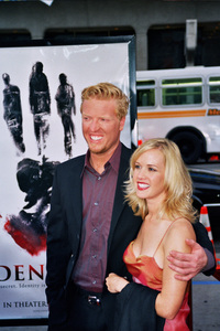 """Identity"" PremiereJake Busey and Katee Penergast4/23/2003Photo by Cindy Burtin - Image 21347_0010"