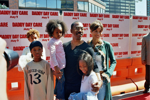 """""""Daddy Day Care"""" Premiere 5-4-03Eddie Murphy and FamilyPhoto By Cindy Burtin - Image 21349_0003"""
