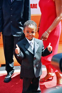 """""""Daddy Day Care"""" Premiere 5-9-03Khamani GriffinPhoto By Cindy Burtin - Image 21349_0021"""