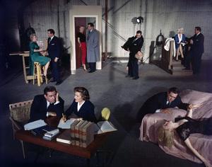 """Perry Mason""Raymond Burr, Barbara Halecirca 1957© 1978 Gene Trindl - Image 2136_0044"