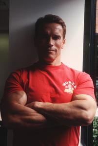 Arnold Schwarzenegger at World GymVenice, CA, 1994 © 1994 Bruce McBroom - Image 21403_0003