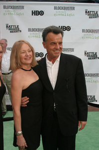"""""""Battle At Shaker Heights"""" Premiere 8-11-03Ray Wise and wife KassPhoto by Sam Kweskin - Image 21404_0002"""