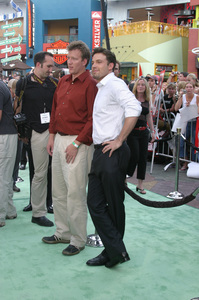 """""""Battle At Shaker Heights"""" Premiere 8-11-03Chris Moore and Ben AffleckPhoto by Sam Kweskin - Image 21404_0039"""