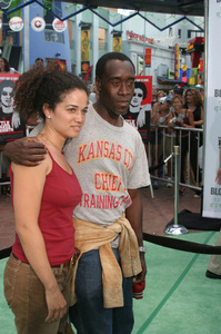 """""""Battle At Shaker Heights"""" Premiere 8-11-03Don Cheadle and Bridgid BoulterPhoto by Sam Kweskin - Image 21404_0121"""