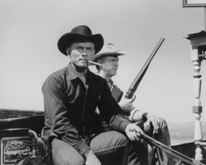"""""""The Magnificent Seven""""Yul Brynner and Steve McQueen1960 UA**I.V. - Image 21421_0016"""