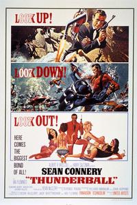 """""""Thunderball"""" (Poster)1965 United Artists** I.V. - Image 21423_0077"""