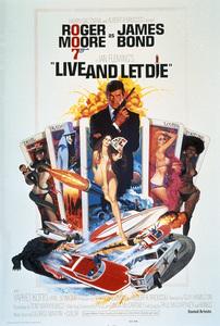 """""""Live and Let Die"""" (Poster) 1973 MGM** I.V. - Image 21425_0112"""