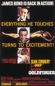 """Goldfinger"" (Poster)1964 United Artists** I.V. - Image 21430_0096"