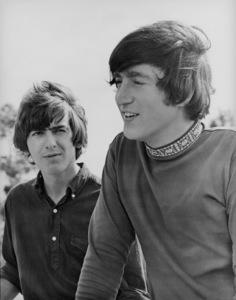 """Help""George Harrison and John Lennon1965 UA**I.V. - Image 21431_0019"