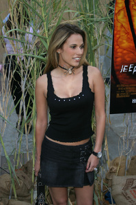 """""""Jeepers Creepers 2"""" Premiere 8-25-03Bonnie-Jill LaflinPhoto By Sam Kweskin - Image 21434_0003"""