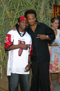 """Jeepers Creepers 2"" Premiere 8-25-03Arlen Escarpeta and Kiko EllsworthPhoto By Sam Kweskin - Image 21434_0018"
