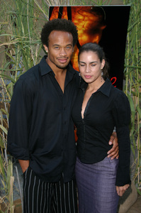 """Jeepers Creepers 2"" Premiere 8-25-03Kiko Ellsworth and Christine CarloPhoto By Sam Kweskin - Image 21434_0024"
