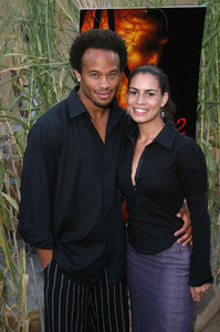 """Jeepers Creepers 2"" Premiere 8-25-03Kiko Ellsworth and Christine CarloPhoto By Sam Kweskin - Image 21434_0025"