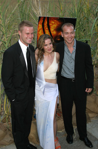 """""""Jeepers Creepers 2"""" Premiere 8-25-03Eric Nenninger,Marieh Delfino,Jonathan BreckPhoto By Sam Kweskin - Image 21434_0055"""
