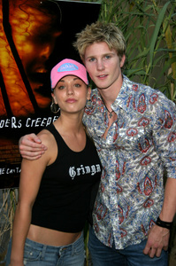 """""""Jeepers Creepers 2"""" Premiere 8-25-03Kaley Cuoco &Thad LuckinbillPhoto By Sam Kweskin - Image 21434_0089"""