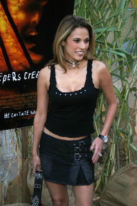 """""""Jeepers Creepers 2"""" Premiere 8-25-03Bonnie-Jill LaflinPhoto By Sam Kweskin - Image 21434_0129"""