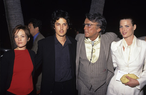 Robert Evans with Natasha Wagner and son Josh Evans1997© 1997 Gary Lewis - Image 21500_0004