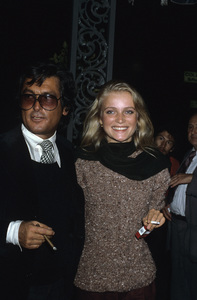 Robert Evans and Merete Van Kampcirca 1970s© 1978 Gary Lewis - Image 21500_0005