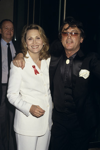 Robert Evans and Faye Dunaway1992© 1992 Gary Lewis - Image 21500_0006