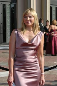 """Emmy - Creative Art Awards""9-13-2003Kim CattrallPhoto by Sam Kweskin - Image 21501_0082"